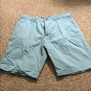 Banana republic light blue shorts size 34
